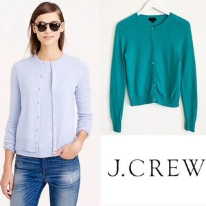 J. Crew Collection Italian Cashmere Cardigan S